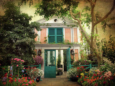 Monet Home Poster by Jessica Jenney