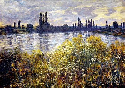 Monet: Seine/vetheil, 1880 Poster