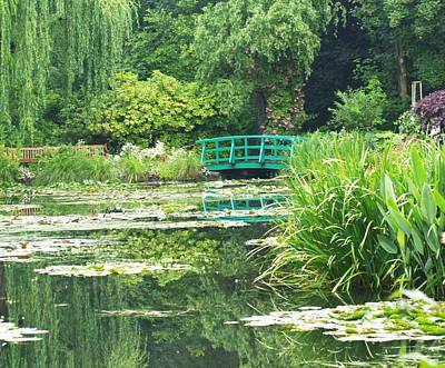 Monet's Lily Pond Poster by Krista Kulas