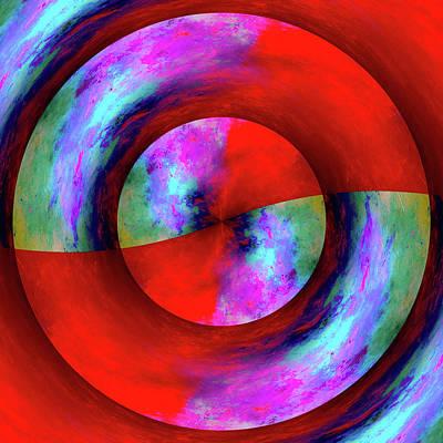 Monet's Mandala Poster by Susan Maxwell Schmidt