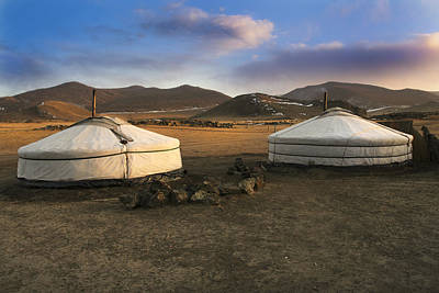 Mongolian Serenity Poster