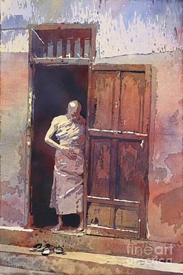 Monk Emerging Poster by Ryan Fox