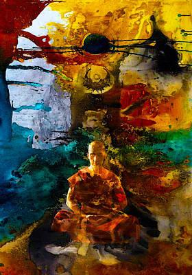 Monk Trip Poster