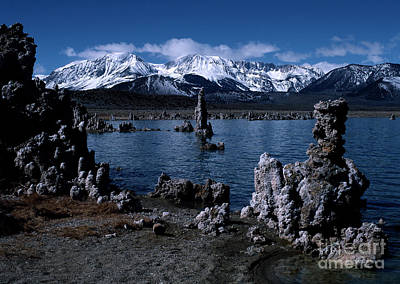 Mono Lake-signed Poster by J L Woody Wooden