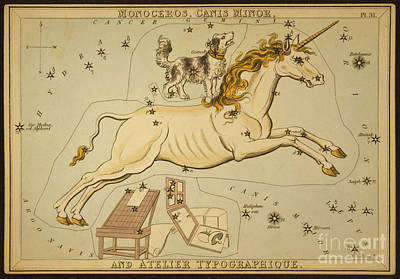 Monoceros And Canis Minor Poster by Science Source