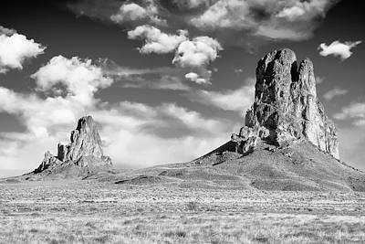Poster featuring the photograph Monoliths by Jon Glaser