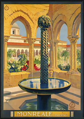 Monreale Palermo Poster by David Wagner
