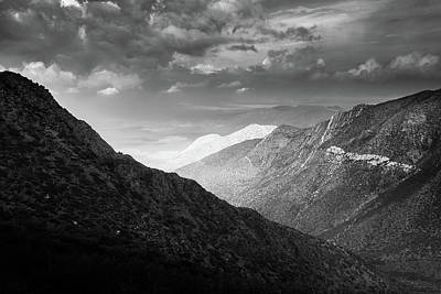 Poster featuring the photograph Monsoon Clouds Over Storm Canyon by Alexander Kunz