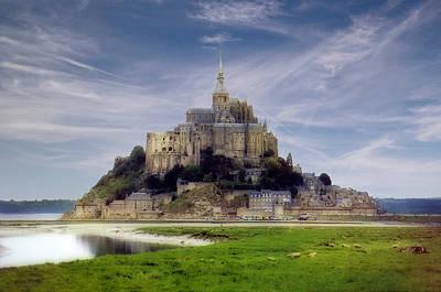 Mont St Michel Poster by Rod Jones