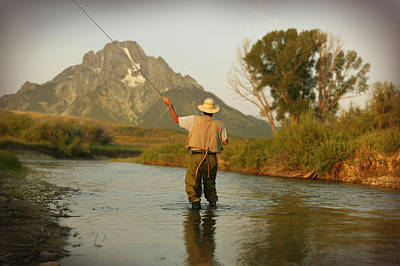 Montana Fly Fishing Poster