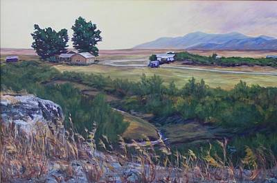 Montana Prairie Poster