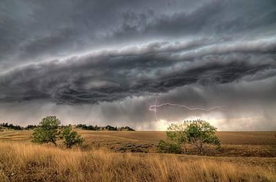 Montana Storm Poster