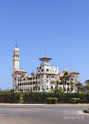 Montaza Palace In Alexandria, Egypt. Poster
