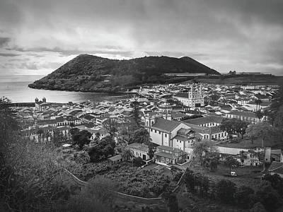 Monte Brasil And Angra Do Heroismo, Terceira Island, Azores Poster