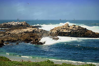 Monterey Bay Fishing Fleet Poster
