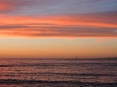 Monterey Bay Sunset Poster
