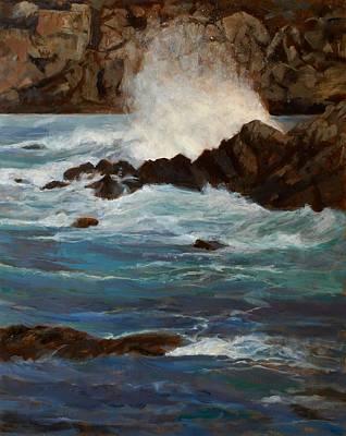 Monterey Wave #1 Poster