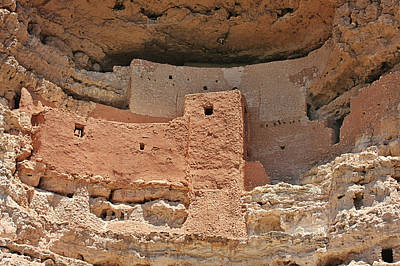 Montezuma Castle - Special In It's Own Way Poster by Christine Till