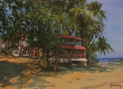 Montezuma Costa Rica Poster by Tom Shropshire