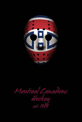 Montreal Canadiens Established Poster by Joe Hamilton