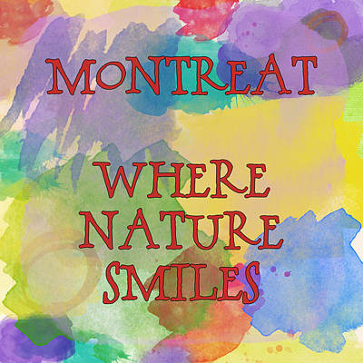 Montreat Quotes Poster by Joye Ardyn Durham