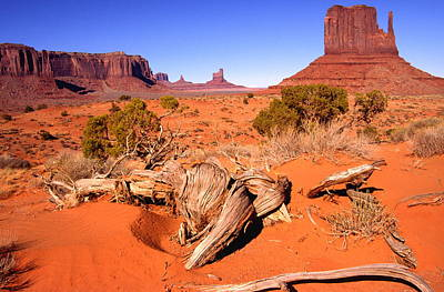 Monument Valley, Arizona, U S A Poster