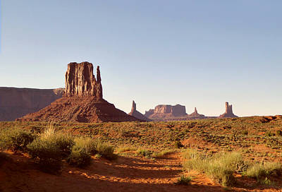 Monument Valley Calm Poster by Gordon Beck