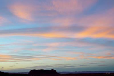 Monument Valley Ix  Poster by David Gordon
