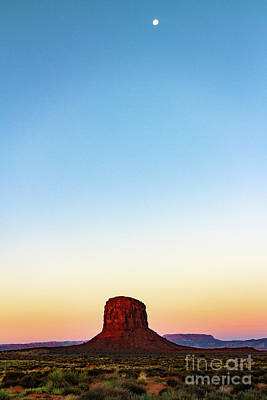 Monument Valley Morning Glory Poster