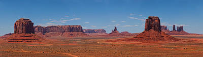 Monument Valley Panoramic Poster