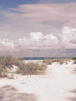 Anna Maria Island Moods Of June Poster by Jean Marie Maggi