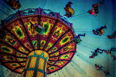 Moody Fair Swing Poster by Garry Gay
