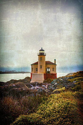 Moody Lighthouse Poster