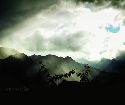 Poster featuring the photograph Moody Weather by Mimulux patricia no No