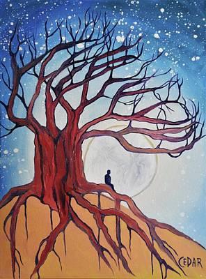 Moon Dreams Poster by Cedar Lee