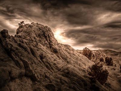 Moon Rocks Poster by Scott McGuire