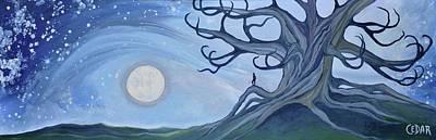 Moon Watcher Poster
