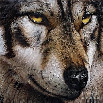 Moon Wolf Poster by Jurek Zamoyski