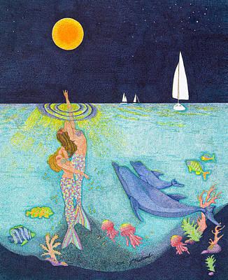 Moonlight Crossing Poster