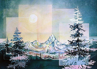 Moonlight Mountain Poster