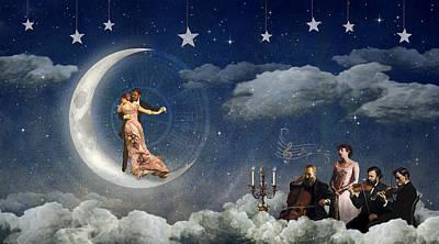 Moonlight Quartet Poster by Alexei Gural
