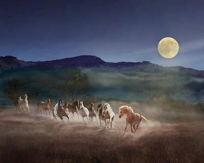 Moonlight Run Poster