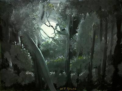 Moonlight Poster by Travis  Ragan