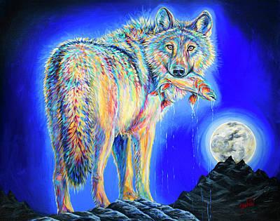 Moonstruck Poster by Teshia Art