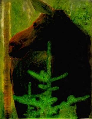 Moose Time Poster