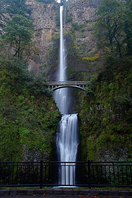 More Multnomah Falls Poster by Todd Kreuter