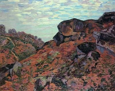 Morning Poster by Armand Guillaumin