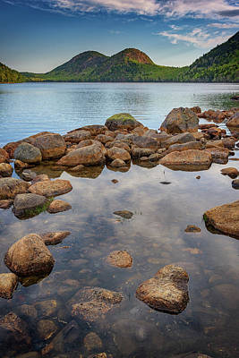 Morning At Jordan Pond Poster