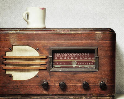 Morning Broadcast Poster by Alison Sherrow I AgedPage