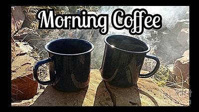 Morning Coffee Poster by Scott D Van Osdol